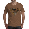 Superman Aztec Symbol Logo Mens T-Shirt