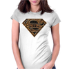 Superman Aztec Symbol Logo Womens Fitted T-Shirt