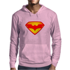 Superman & Batman Mens Hoodie