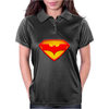 Superman & Batman Womens Polo
