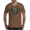 Superman Camo Camouflage Logo Mens T-Shirt