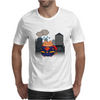 Superman Cat Mens T-Shirt