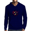 Superman Claw Design Mens Hoodie