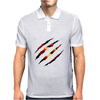 Superman Claw Design Mens Polo