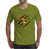Superman Claw Design Mens T-Shirt