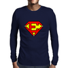 Superman E Mens Long Sleeve T-Shirt