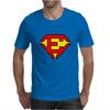 Superman E Mens T-Shirt