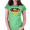 Superman German Womens Fitted T-Shirt