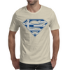 Superman Greek Greece Mens T-Shirt