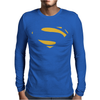 Superman - Man Of Steel - Cult Film Mens Long Sleeve T-Shirt