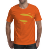 Superman - Man Of Steel - Cult Film Mens T-Shirt