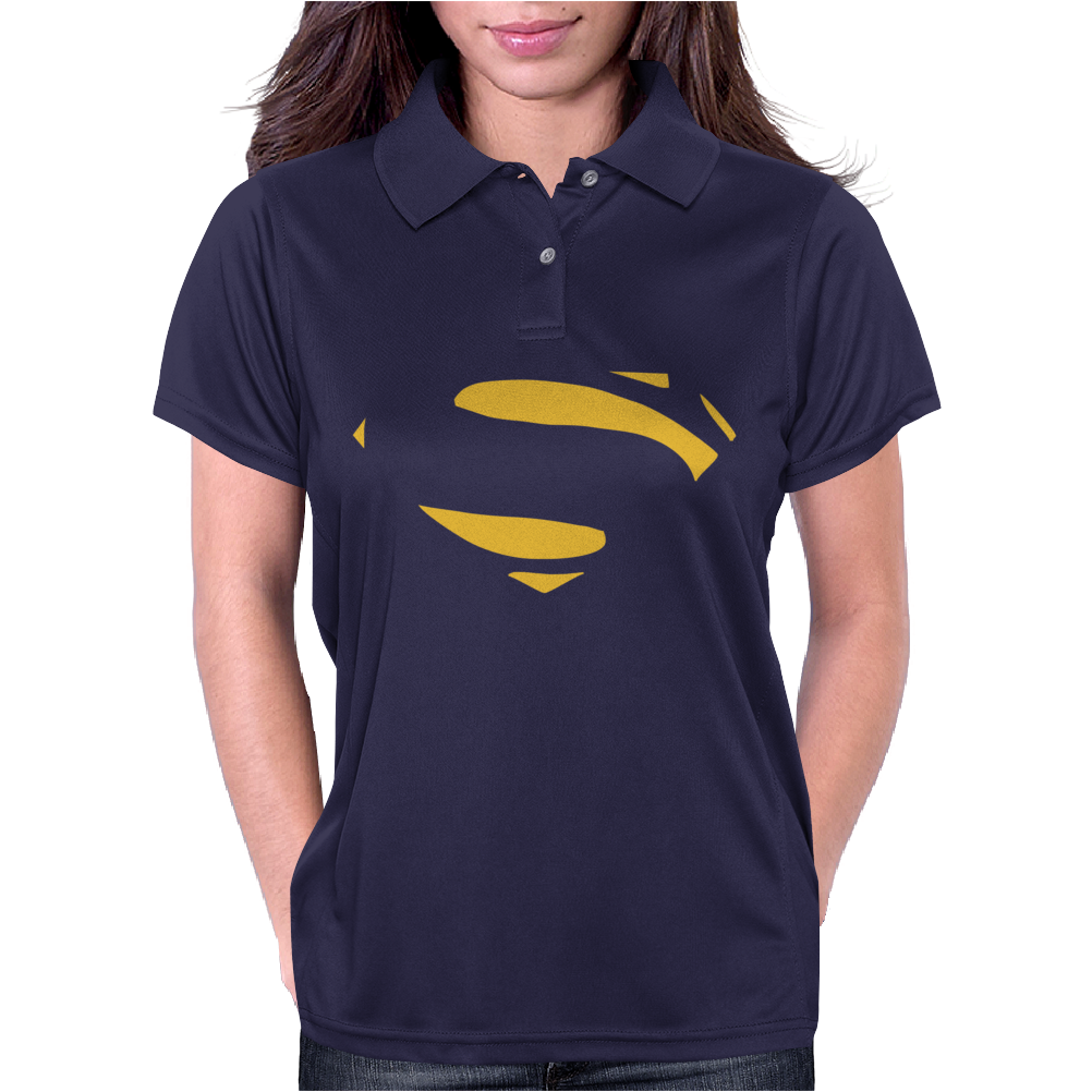 Superman - Man Of Steel - Cult Film Womens Polo