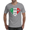 Superman Shield with Italian Mens T-Shirt