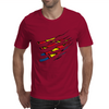 superman vs Wolverine Mens T-Shirt