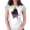 superman/Batman v superman dawn of justice. Womens Fitted T-Shirt