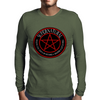 Supernatural  Killing evil son bitches raising a little hell  Ring Patch 03 Mens Long Sleeve T-Shirt