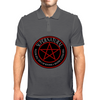 Supernatural  Killing evil son bitches raising a little hell  Ring Patch 03 Mens Polo