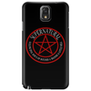 Supernatural  Killing evil son bitches raising a little hell  Ring Patch 03 Phone Case