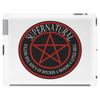 Supernatural  Killing evil son bitches raising a little hell  Ring Patch 03 Tablet (horizontal)
