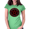 Supernatural  Killing evil son bitches raising a little hell  Ring Patch 03 Womens Fitted T-Shirt