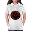 Supernatural  Killing evil son bitches raising a little hell  Ring Patch 03 Womens Polo