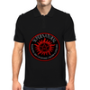 Supernatural  Killing evil son bitches raising a little hell  Ring Patch 03A Mens Polo
