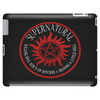 Supernatural  Killing evil son bitches raising a little hell  Ring Patch 03A Tablet (horizontal)