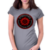 Supernatural  Killing evil son bitches raising a little hell  Ring Patch 03A Womens Fitted T-Shirt