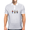 Supernatural Pixels - Sam, Castiel, & Dean Mens Polo
