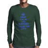 support leicester city Mens Long Sleeve T-Shirt