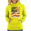 Support our troops.  Patriotic american flag. Womens Hoodie