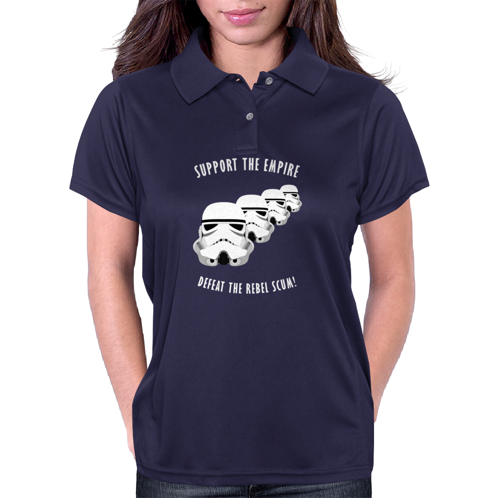 Support The Empire Womens Polo