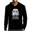 SUPPORT THE TROOPS Mens Hoodie