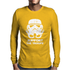 SUPPORT THE TROOPS Mens Long Sleeve T-Shirt
