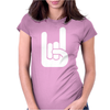 Surfer Fingers Womens Fitted T-Shirt