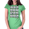 Surfer Galerie Womens Fitted T-Shirt