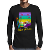 Surfing Coast to Coast Mens Long Sleeve T-Shirt