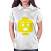 Surprised Expression Lego Head. Womens Polo