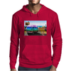 Surrealistic design by Axe-illustrations of a dreamy sunny place Mens Hoodie