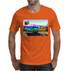 Surrealistic design by Axe-illustrations of a dreamy sunny place Mens T-Shirt