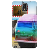 Surrealistic design by Axe-illustrations of a dreamy sunny place Phone Case