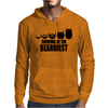Survival Of The Beardiest Mens Hoodie