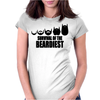 Survival Of The Beardiest Womens Fitted T-Shirt
