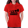 Survival Of The Beardiest Womens Polo