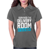 Survived The Delivery Room It's a Boy Funny Womens Polo