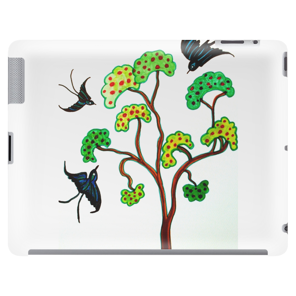 Swallows and the Apple Tree Tablet (horizontal)
