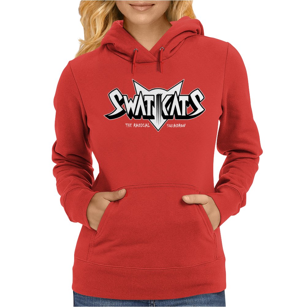 Swat Kats The Radical Squadron Womens Hoodie
