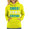 Sweat Is Fat Crying Womens Hoodie