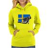 Swedish Speedway Racing Womens Hoodie
