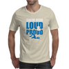 Swim Mom Loud And Proud Sports Athlete Athletic Mens T-Shirt